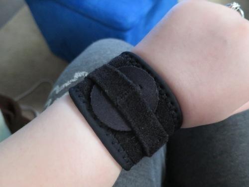 Curse this bum wrist!