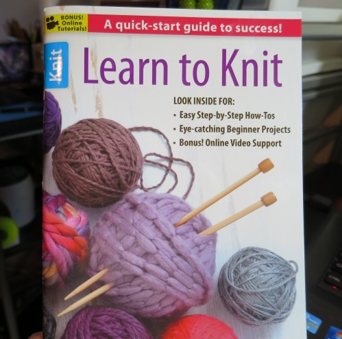 Learn To Knit By Leisure Arts